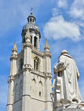 Memorial of Adrien-Francois Servais in Halle, Belgium Stock Photography