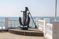 Memorial anchor Royalty Free Stock Photography