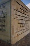 Memorial of antifascist resistance Royalty Free Stock Photo