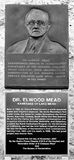 Memorial ao Dr. Elwood Mead Fotografia de Stock Royalty Free
