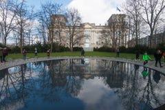 Memorial ao Sinti e ao Roma, Berlim Fotos de Stock
