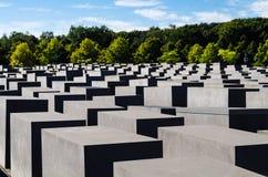 Memorial aos judeus assassinados de Europa Fotografia de Stock