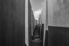 Memorial aos judeus assassinados de Europa Foto de Stock