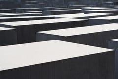 Memorial aos judeus assassinados de Europa em Berlim imagens de stock