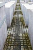 Memorial aos judeus assassinados em Berlim, Alemanha fotografia de stock royalty free