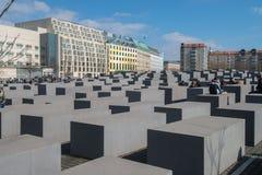 Memorial aos judeus assassinados em Europa Fotos de Stock