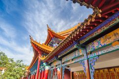Memorial arch building architecture, china artwork. Great beautiful arch of Chinese gate Stock Photography