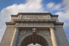 Memorial Arch in Valley Forge National Park Stock Photography