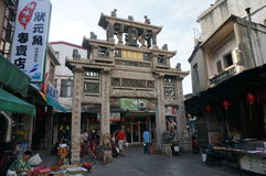 Memorial archway in kinmen Stock Photo