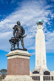 Memorial At Plymouth Hoe, Devon Royalty Free Stock Photo