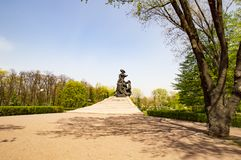 Memorial `Babin Yar` Kiev Ukraine - a monument to war victims stock images