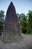 Memorial Battle of the Bulge. Belgium stock images