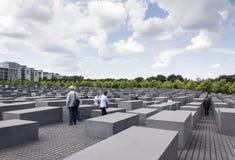 Memorial Berlim do holocausto Fotografia de Stock