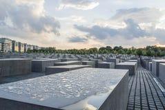 Memorial Berlim do holocausto Imagem de Stock Royalty Free