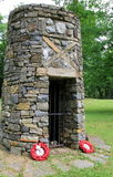 Memorial of Blackwatch, dedicated to fallen soldiers in 1758,Fort Ticonderoga,New York,2014 Royalty Free Stock Photography