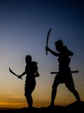 Memorial bravery. Tung Sumrit : Bravery Korat land Stock Photography