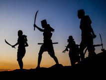 Memorial bravery. Tung Sumrit : Bravery Korat land Royalty Free Stock Photography