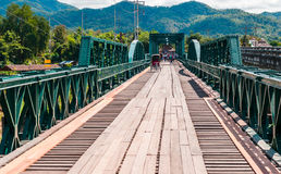 Memorial bridge in pai city Stock Images