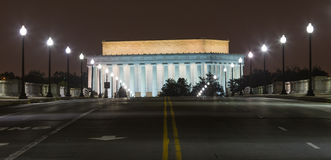 Memorial Bridge in Washington DC Stock Image
