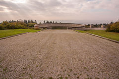 Memorial Buchenwald. Concentration camp Stock Image