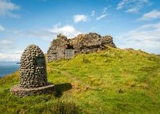 Memorial Cairn on Isle of Skye Stock Photo