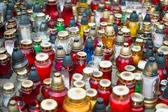 Memorial Candles  Stock Image