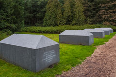 Memorial Centre Westerbork, the Netherlands Stock Images