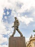 Memorial of Charles de Gaulle   in Paris Stock Photography