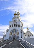 Memorial Church of All Saints in Minsk Stock Photos
