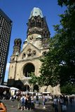 Memorial church in Berlin Stock Image