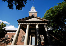 Memorial Church, Harvard Stock Image