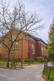 Memorial Church in Harvard Yard in Cambridge Stock Images
