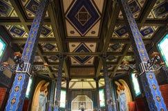 Memorial church of the holy spirit, Javorca. Slovenia Royalty Free Stock Image
