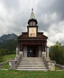 Memorial church of the holy spirit, Javorca. Slovenia Stock Images