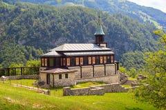Memorial church of the holy spirit, Javorca. Slovenia Royalty Free Stock Photos