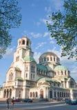 Memorial Church of St. Alexander Nevsky. Sofia Stock Photography