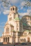 Memorial Church of St. Alexander Nevsky. Sofia Stock Photos