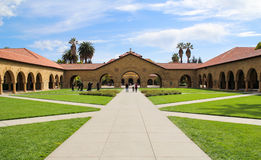 Memorial Church at Stanford University. stock images