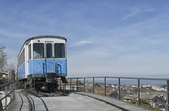 Memorial of classic tram carriage Royalty Free Stock Images