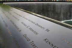 911 memorial Stock Image