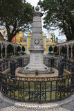 Memorial 1910 in Coloane Village Taipa, Macao Royalty Free Stock Image
