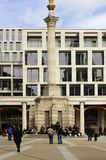 Memorial column to the Great Fire London Stock Photo