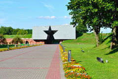 The memorial complex. Brestskaya fortress in Belarus Royalty Free Stock Image