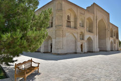 The MEMORIAL COMPLEX of BAHAUDDIN NAQSHBANDI. (1318-1389), is a center of pilgrimage as it was worshipped not only in Bukhara but also in the whole Islamic Royalty Free Stock Images