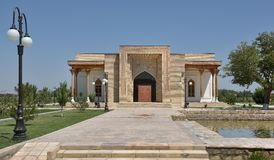 The MEMORIAL COMPLEX of BAHAUDDIN NAQSHBANDI. (1318-1389), is a center of pilgrimage as it was worshipped not only in Bukhara but also in the whole Islamic Stock Photo