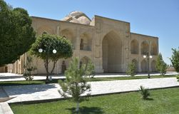 The MEMORIAL COMPLEX of BAHAUDDIN NAQSHBANDI. (1318-1389), is a center of pilgrimage as it was worshipped not only in Bukhara but also in the whole Islamic Stock Images