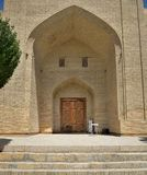 The MEMORIAL COMPLEX of BAHAUDDIN NAQSHBANDI. (1318-1389), is a center of pilgrimage as it was worshipped not only in Bukhara but also in the whole Islamic Stock Photography