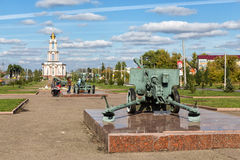 Memorial complex Battle of Kursk. Russia Royalty Free Stock Photo
