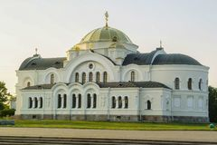 The memorial complex of the Brest fortress in Belarus. Stock Photos