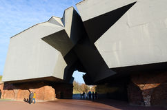 The memorial complex Brest Fortress the Hero Stock Images